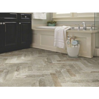 Shaw Stellar X Glazed Porcelain Tile - 16 x 16 white ceramic floor tile