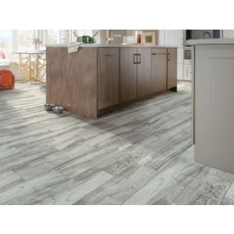 "Shaw 8"" x 48"" Provision Glazed Porcelain Wood Look Tile"