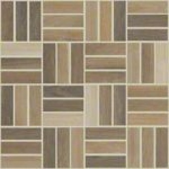 "Shaw 11.53"" x 11.53"" Independence Matching Mosaic Tile - Natural"