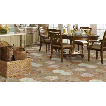 "Shaw San Francisco 9.40"" X 10.90"" Hex Porcelain Tile"