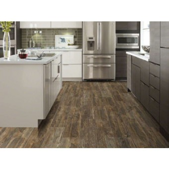 Shaw 7 X 24 Dodge City Glazed Ceramic Wood Look Tile