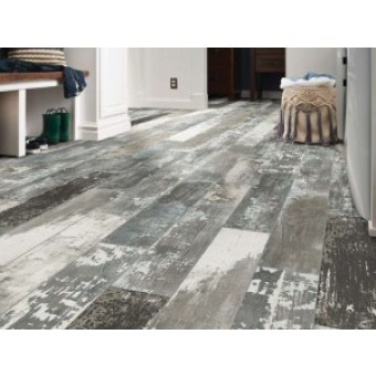 """Shaw 6"""" x 36"""" Timbered Wood Look Porcelain Tile"""