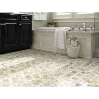 "Shaw Boca 12"" Hexagon Natural Stone Mosaics"