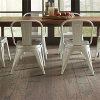 "Shaw 5"" Pebble Hill Hickory Hardwood Floor 7073 Pumice"